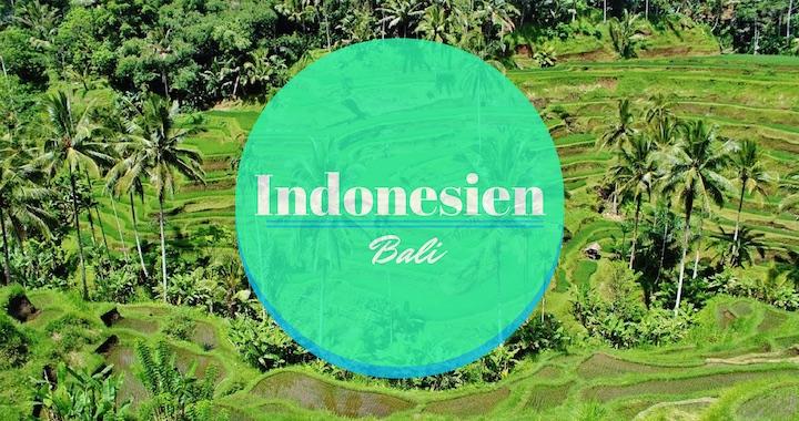 Indonesien-Bali-Titel