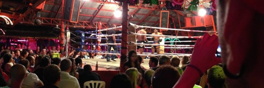 Koh Samui Lamai Nightlife Muay Thai Ring