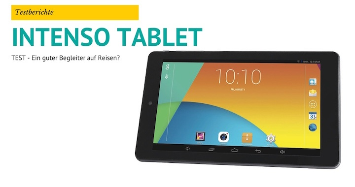Intenso Tablet PC Test
