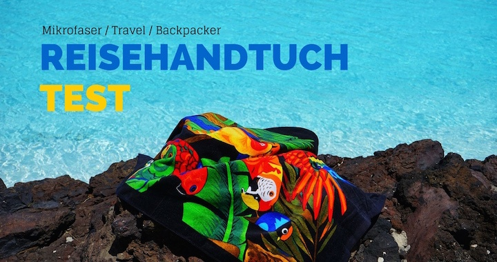 Mikrofaser Handtuch - Reisehandtuch Backpacker