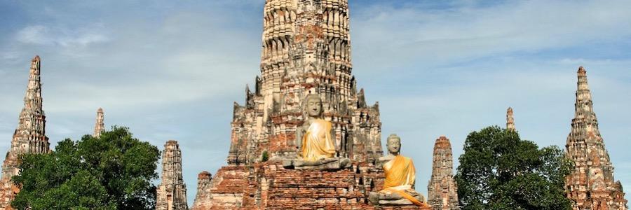 Ayutthaya Thailand Ausflug Bangkok