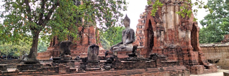 Buddha Statue Ayutthaya