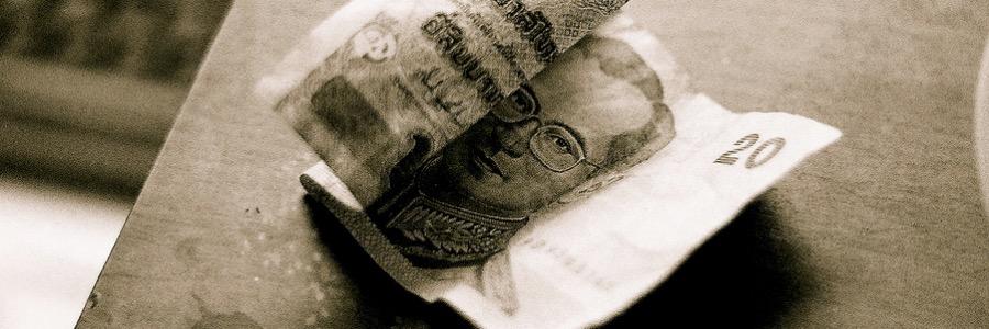 Geld Thailand und Bali