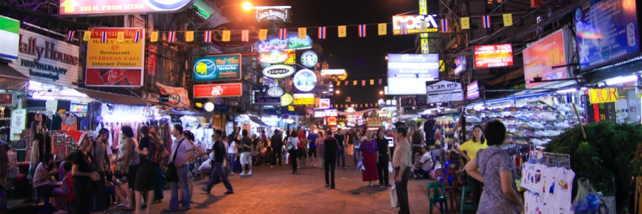 Khao San Bangkok Party Thailand