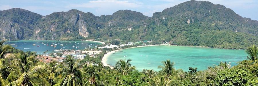 Koh Phi Phi Viewpoint 2 Morgen Loh Dalam Ton Sai