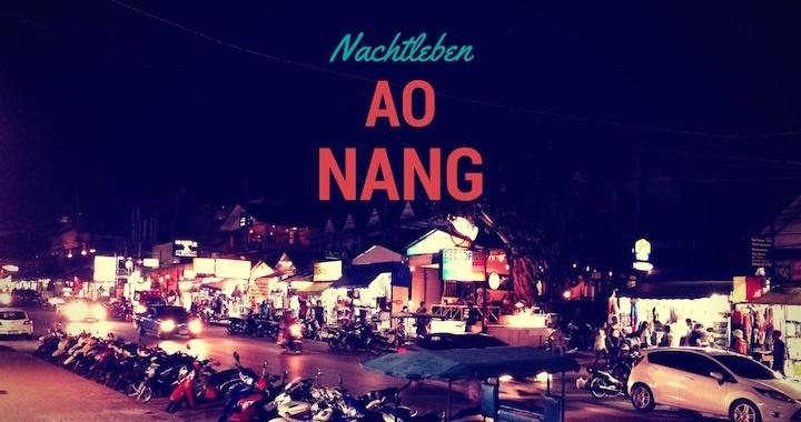 Nachtleben Ao Nang