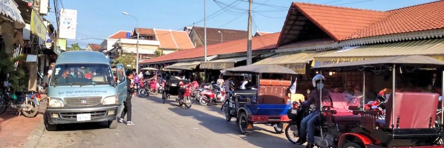 Old Market Siem Reap Kambodscha Außen