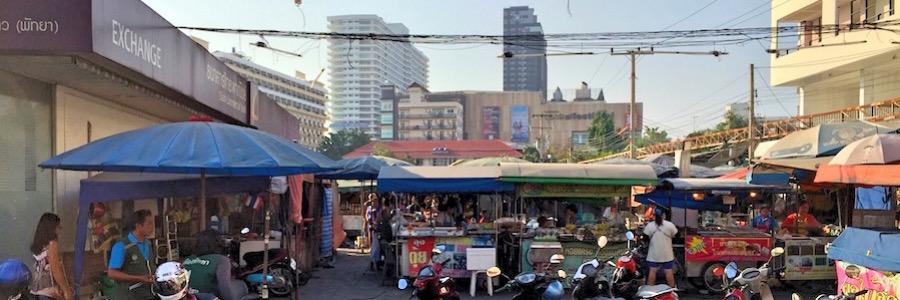 Pattaya Sehenswürdigkeiten Soi Daeng Mu Markt
