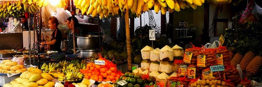 Pattaya Sehenswürdigkeiten South Pattaya Markt