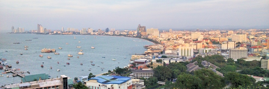 Pattaya Sehenswürdigkeiten View Point Pattaya Bucht