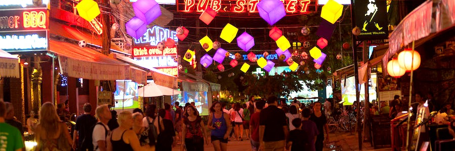 Pub Street Nachtleben Siem Reap