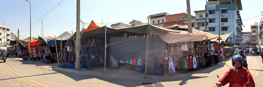 Sehenswürdigkeiten Pattaya Soi Buakhao Wochenmarkt