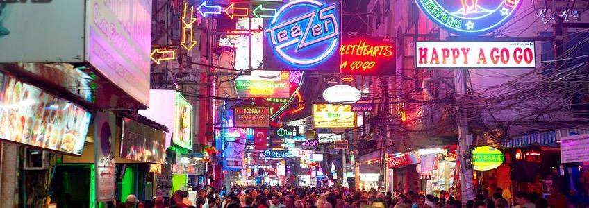 Sehenswürdigkeiten Pattaya Walking Street