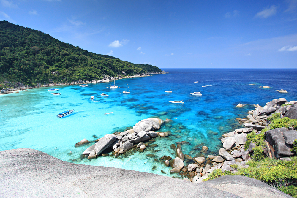 Similan Islands Schnorcheln Phuket