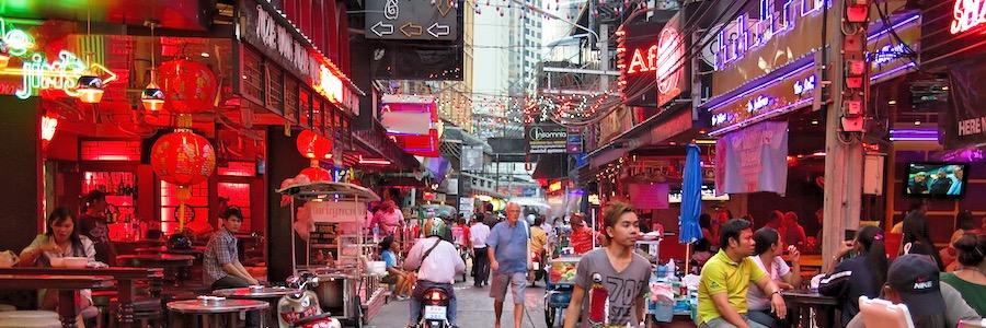 Soi Cowboy Bangkok Dusk