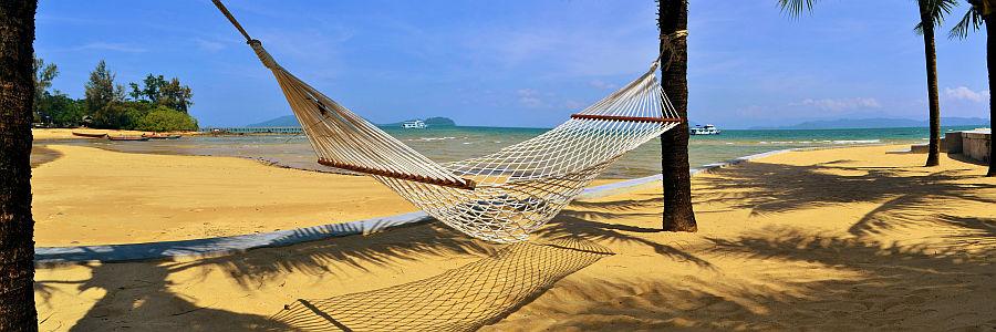 Thailand Strand Hängematte