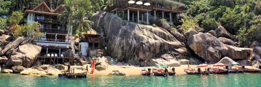 Aow Muang Beach Resort Mango Bay Koh Tao Thailand