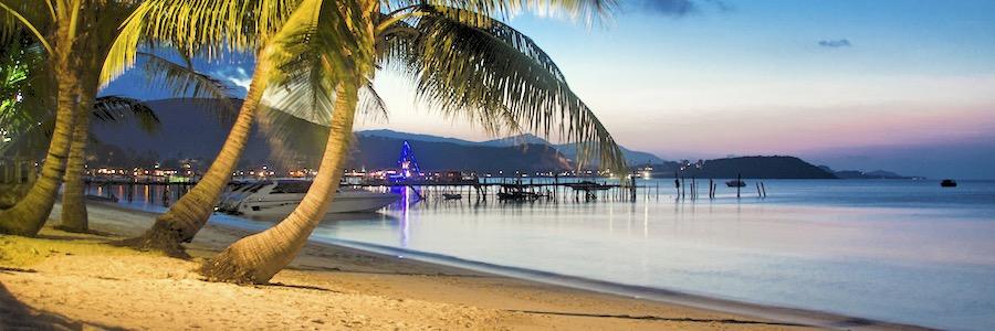 Big Buddha Beach Koh Samui Thailand