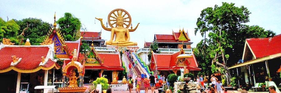 Big-Buddha Koh-Samui Thailand Bophut
