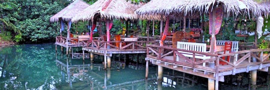 Blaue Lagune Koh Chang Bar Hütten