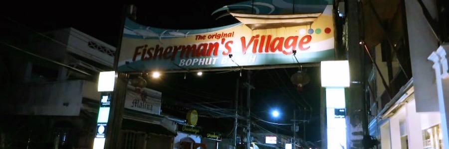 Bophut Fishermans Village Koh Samui Sehenswürdigkeiten