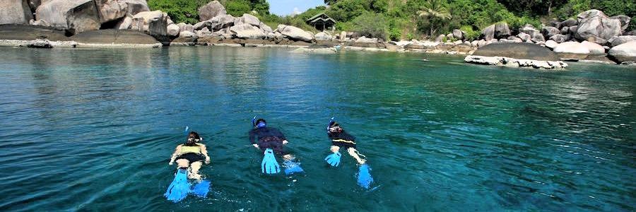 Hin Wong Bay Koh Tao Thailand