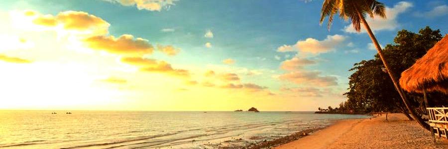 Kai Bea Beach Koh Chang Sonnenuntergang