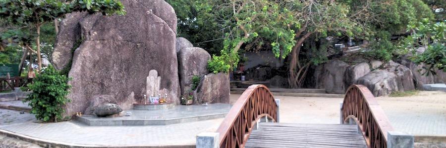 King Rama 5 Monument Koh Tao Thailand