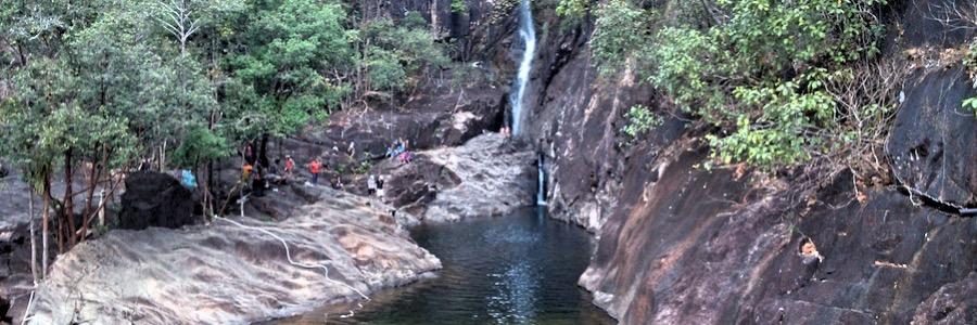 Klong Plu Wasserfall Koh Chang Nationalpark