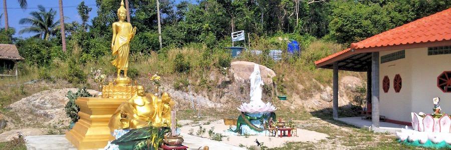 Kuan Yim Shrine Koh Tao Thailand