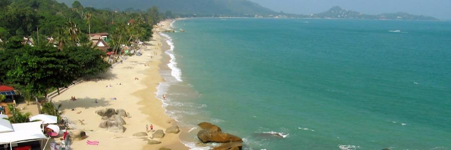 Lamai Beach Koh Samui Thailand Viewpoint