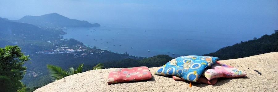 Mango Viewpoint Koh Tao Thailand Felsen