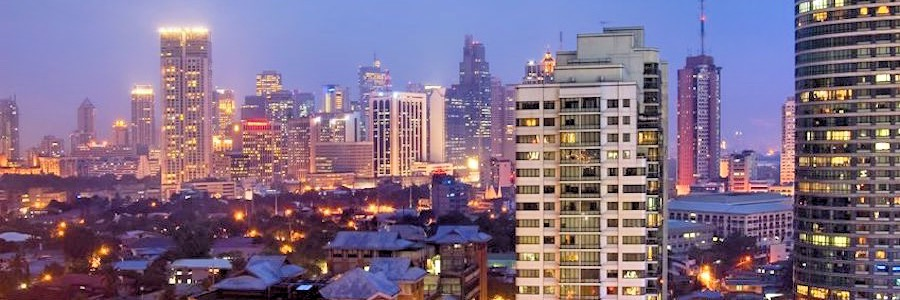 Manila Philippinen Skyline