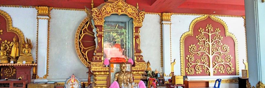 Mumifizierter Mönch Koh Samui Thailand Sehenswürdigkeiten