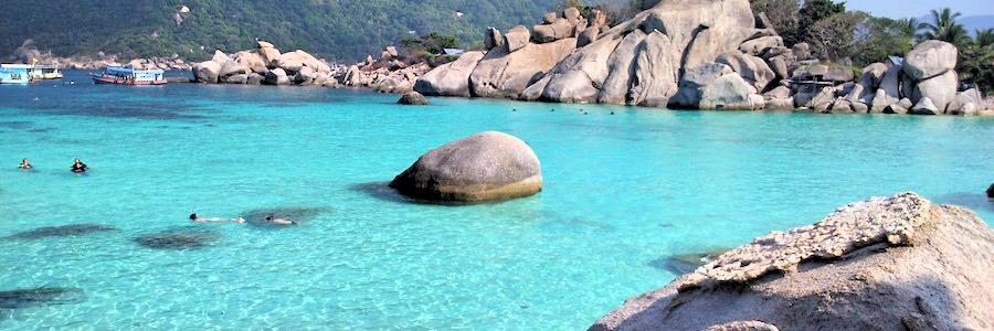 Nang Yuan Island Beach Koh Tao Thailand 2