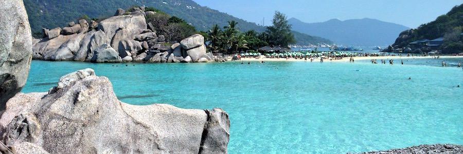 Nang Yuan Island Beach Koh Tao Thailand