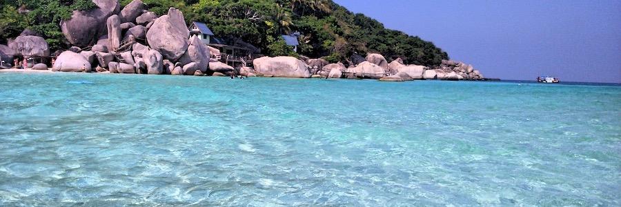 Nang Yuan Island Koh Tao Thailand Strand
