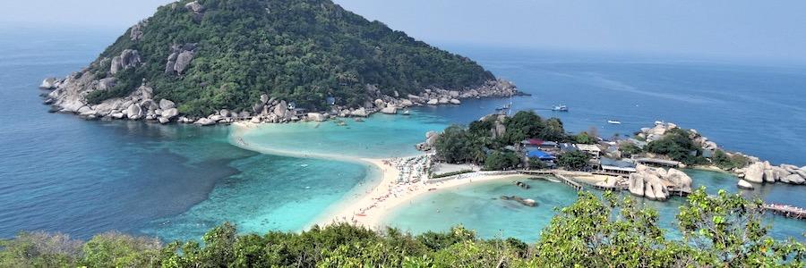 Nang Yuan Viewpoint Koh Tao Thailand