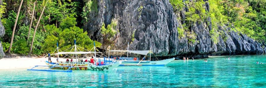 Palawan Philippinen Strand