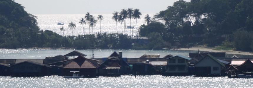 Pier Koh Chang Bang Bao Hütten