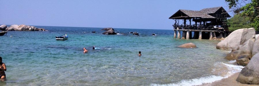 Sai Nuan Beach Koh Tao Thailand Bar