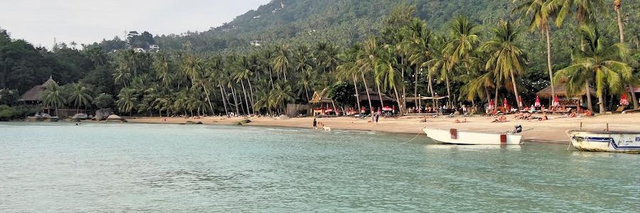 Sairee Beach Sonnenuntergang Thailand Koh Tao