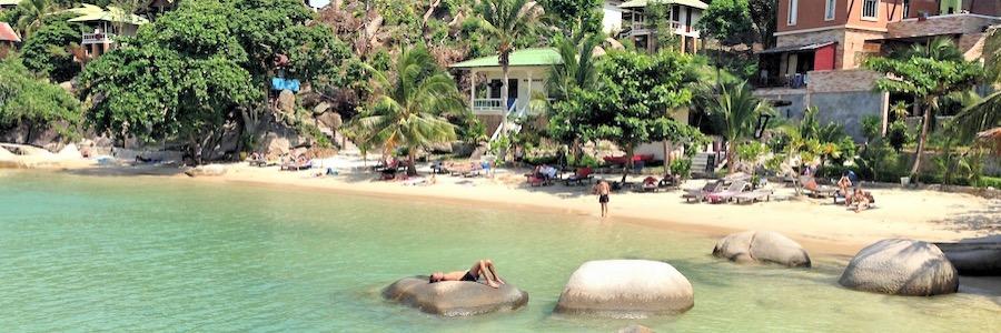 Taa Toh Resort Bucht Koh Tao Thailand