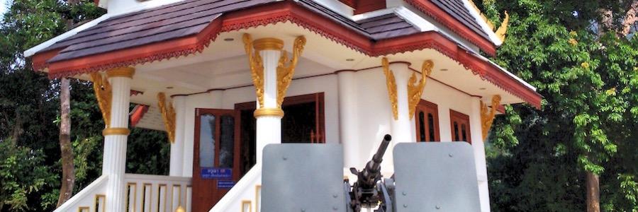 Viewpoint Maschinengewehr Koh Chang