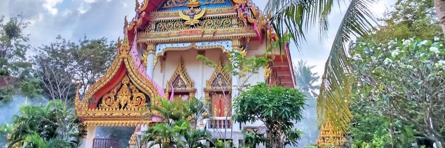 Wat Phra Lan Koh Samui Sehenswürdigkeiten