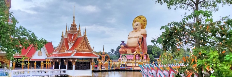 Wat-Plai Laem Buddha Koh Samui Thailand Sehenswürdigkeiten