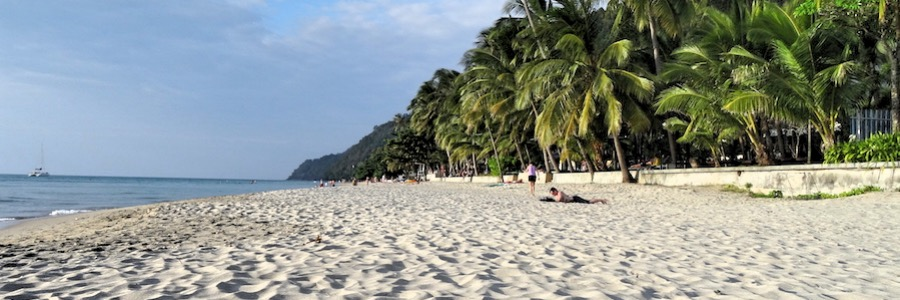 White Sands Beach Koh Chang Abend