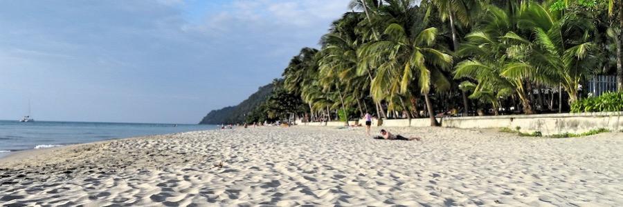 White Sands Beach Koh Chang Abend