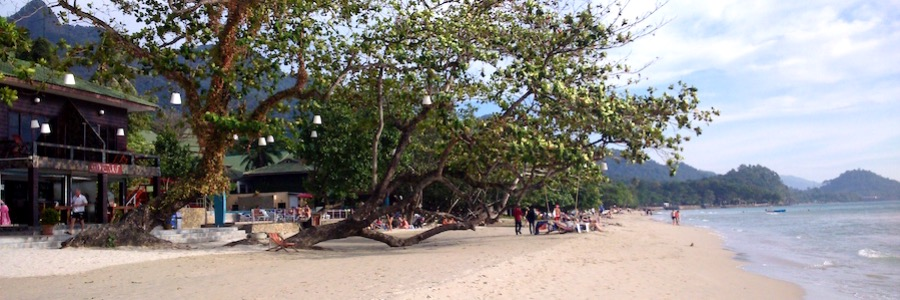 White Sands Beach Koh Chang Thailand Baum