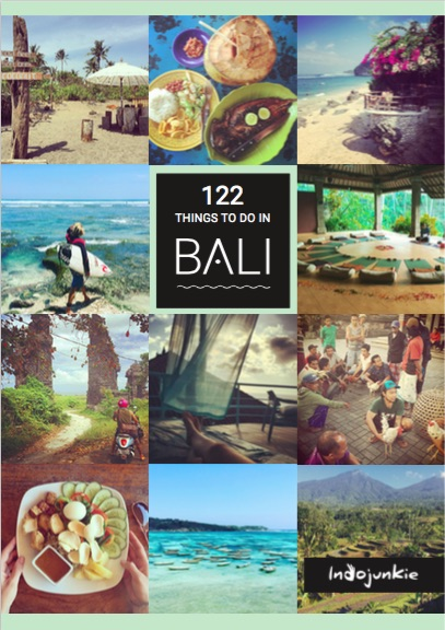 122 Things to do in Bali Cover